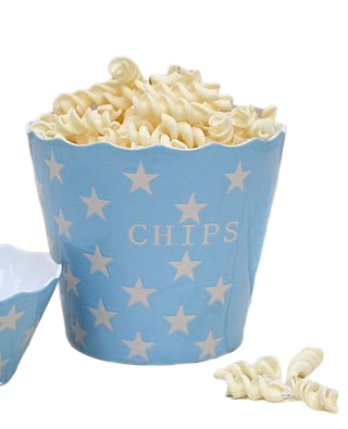 Chips Baby Blue Star